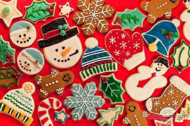 печенье на Рождество