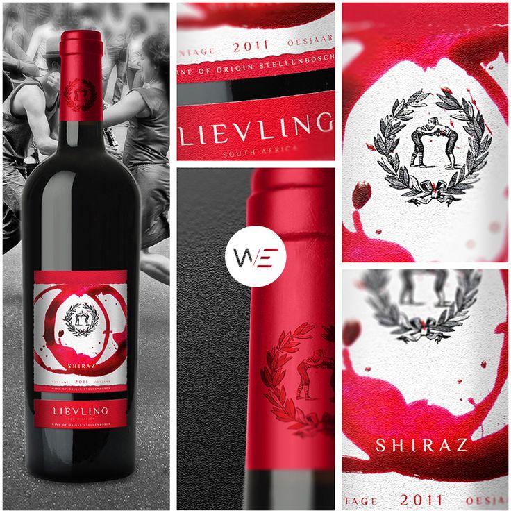 @we.lifeasweknowit designed a series of export premium wines