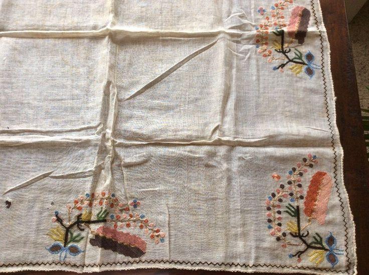 ottoman turkish embroidered scarf 2
