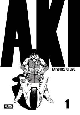 AKIRA. ¡Vuelve el clásico que desencadenó la mangamanía en Europa y América! Una ocasión ideal para descubrir -o redescubrir- el manga que lanzó a Katsuhiro Otomo a la fama internacional, en una nueva presentación en seis tomos a todo color. [Imagen tomada de http://www.normaeditorial.com/ficha.asp?0/0/012240002/0/akira_01]