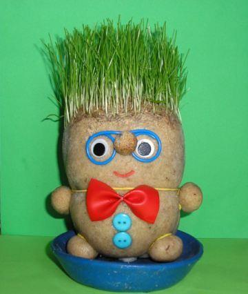Grass Heads Dolls