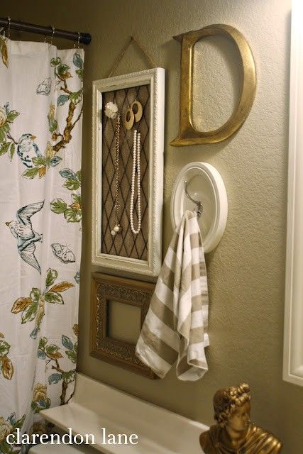 Bathroom decor @ MyHomeLookBookMyHomeLookBook