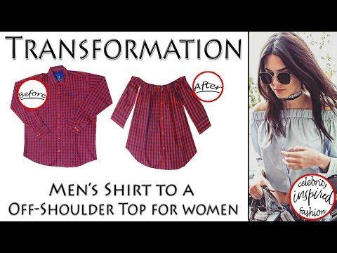 Bettinael.Passion.Couture.Made in france: Idée Couture : Que faire avec une chemise d'homme ?