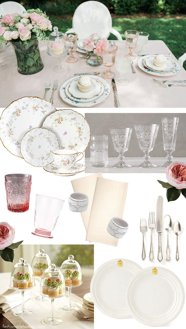 Pink Tabletop Shopping List - Fashionable Hostess | Fashionable Hostess