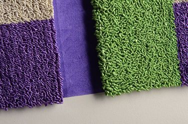 "Saatchi Art Artist Graziella Coi; Painting, ""Green, violet and light colour (detail 1)"" #art"
