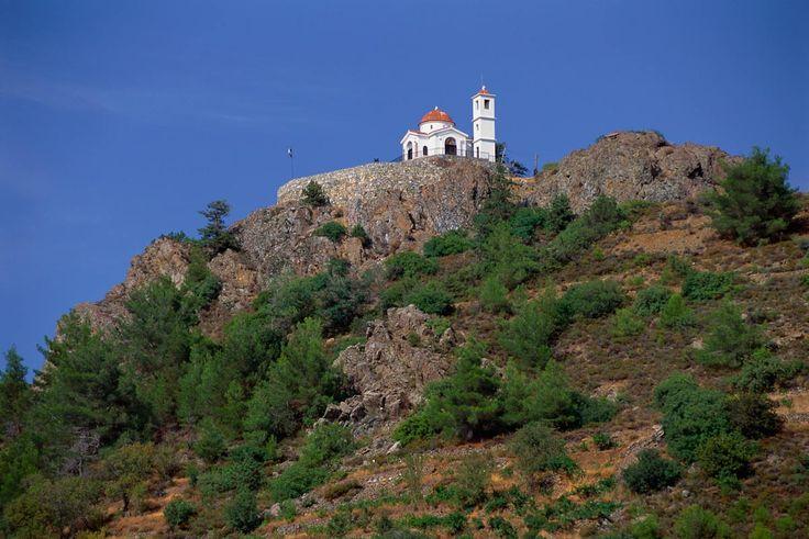 Montañas de Troodos en Chipre