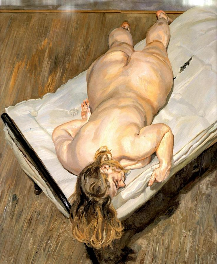 Lucian Freud: Night Portrait Face Down (1999-2000)