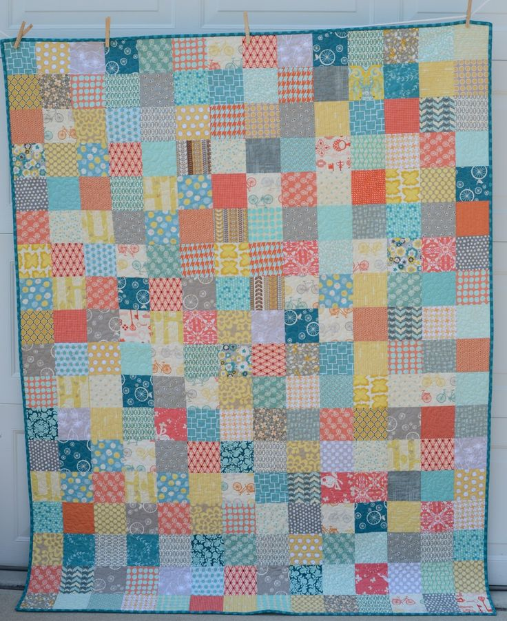 109 best PATCHWORK QUILTS images on Pinterest | Photos, 1960s and Ea : simple patchwork quilts - Adamdwight.com