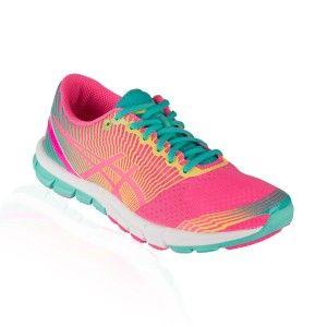 Asics - Gel Lyte 33 3 Running Shoe - Flash Pink/Lime/Green