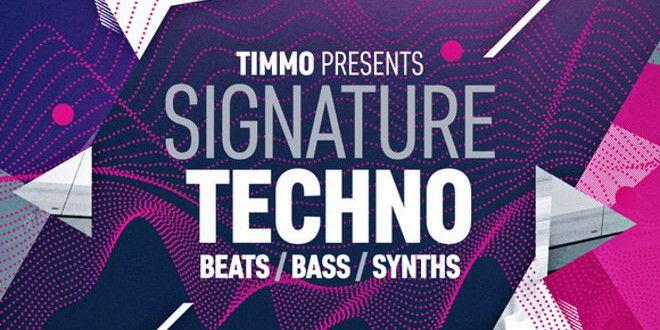 Timmo Presents Signature Techno Sample Pack