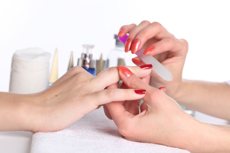 Swipe bare nails with some vinegar prior to the polishing as it will remove oils or other residues. #ManicureSydney  https://goo.gl/bUldqy