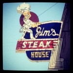 Best steak and one of my favorite places to eat.  Jim's Steakhouse, Pittsburg, Kansas