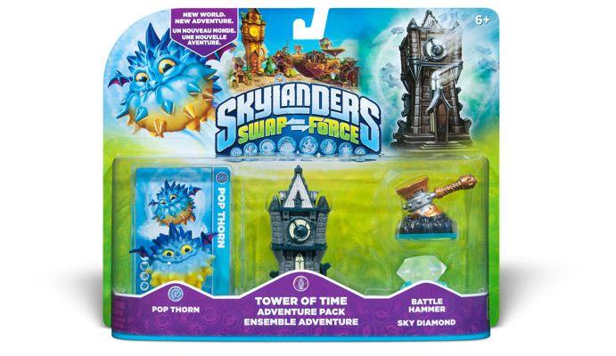Skylanders SWAP Force Tower of Time Adventure Pack - EB Games Australia