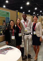 The Penn Nursing Pediatric Acute Care Nurse Practitioner program partnership with Sayre High School and the Urban Nutrition Initiative (UNI) celebrated its ninth year of fantastic representation at the 30th Annual Pediatric Nursing Conference in National Harbor, MD, July 31-August 2.