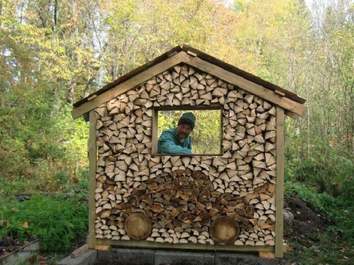 Best Wood Pile Art Images On Pinterest Wood Firewood Storage - Creative firewood storage ideas turning wood beautiful yard decorations