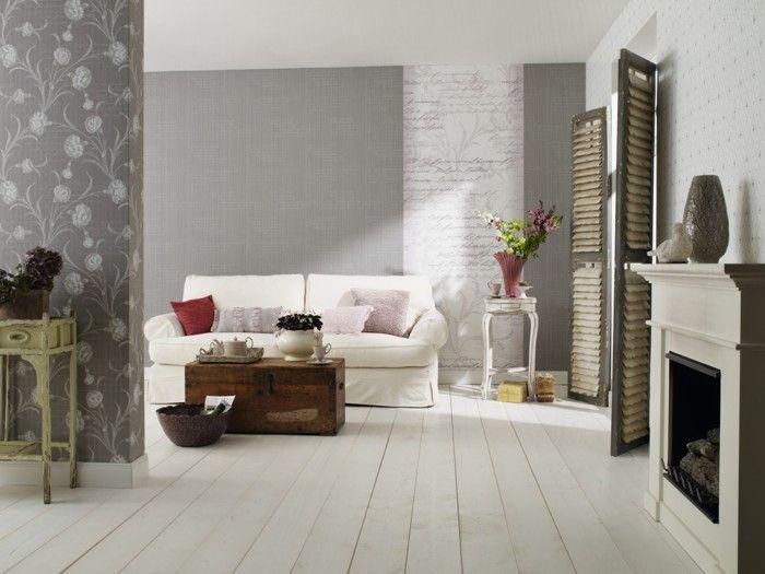 the 114 best images about wandgestaltung on pinterest | belle ... - Designer Tapeten Raumbilder