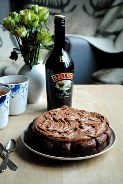 Baileys fødselsdagskage by Anne au Chocolat