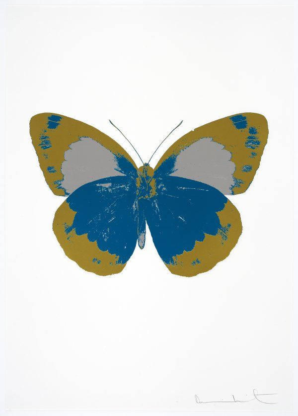 The Souls II - Turquoise/Oriental Gold/Cool Gold - Damien Hirst prints http://www.printed-editions.com/art-print/damien-hirst-the-souls-ii---turquoiseoriental-goldcool-gold-65105
