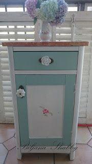 Romantic Shabby Chic Furniture Makeover