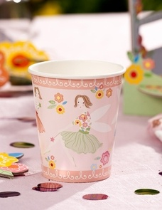 Fairy party paper cups   Fairy Magic theme