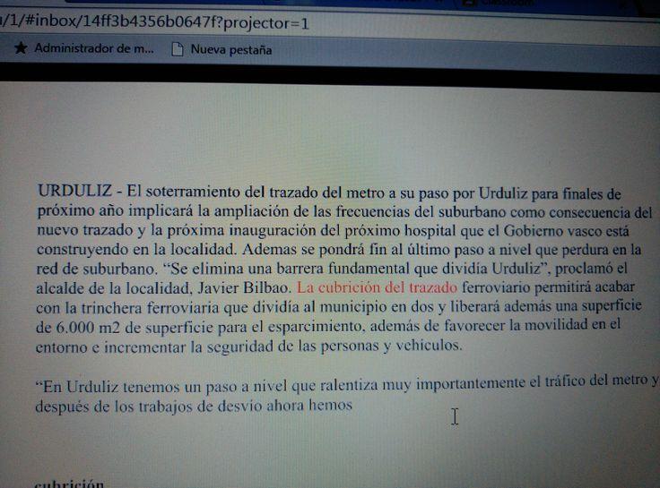 """Esta imagen la encontré en el periódico digital """"DEIA""""  el pasado 5 de septiembre.  Según la Real Academia Española cubrición es la acción que realiza un macho al cubrir a una hembra.  Con lo cual, es un grave error haber utilizado esta palabra en este contexto."""