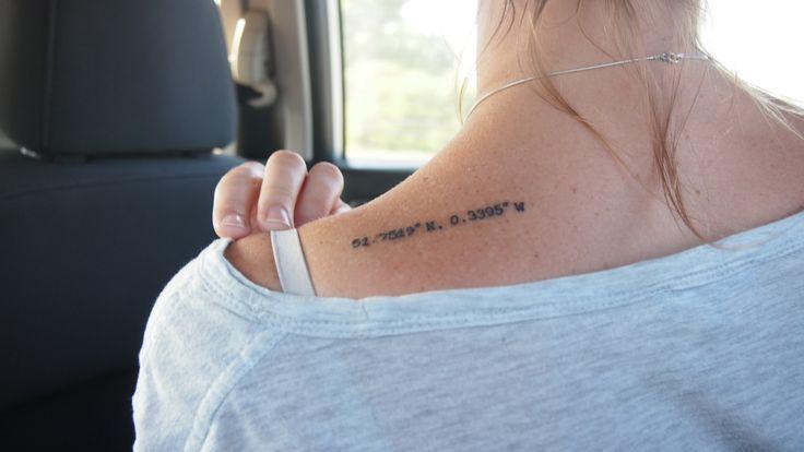 small coordinates tattoo #girly #ink