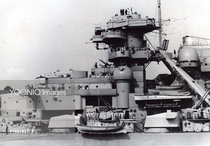 Image result for battleship bismarck photograph