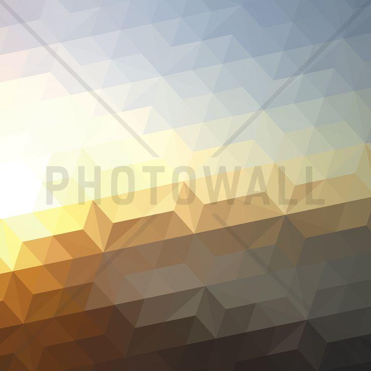 Abstract Sunset - Fototapeter & Tapeter - Photowall