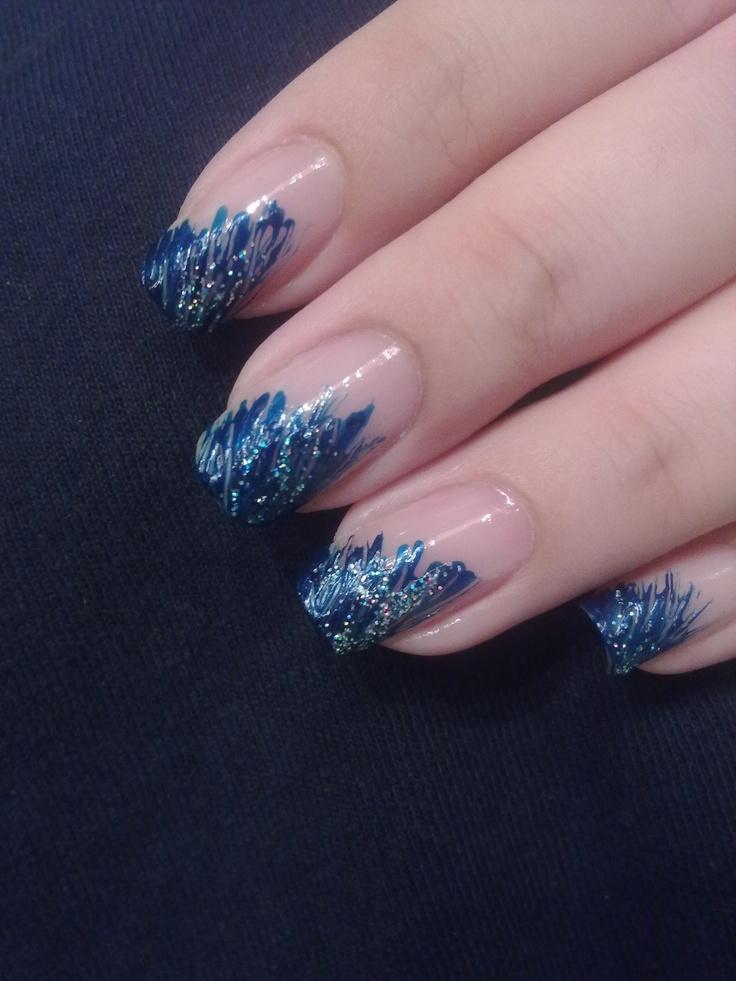 nail art strisciato
