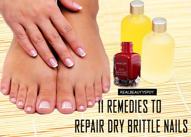 11 Effective Remedies to repair Dry, Brittle Nails - ♥ Real Beauty Spot ♥