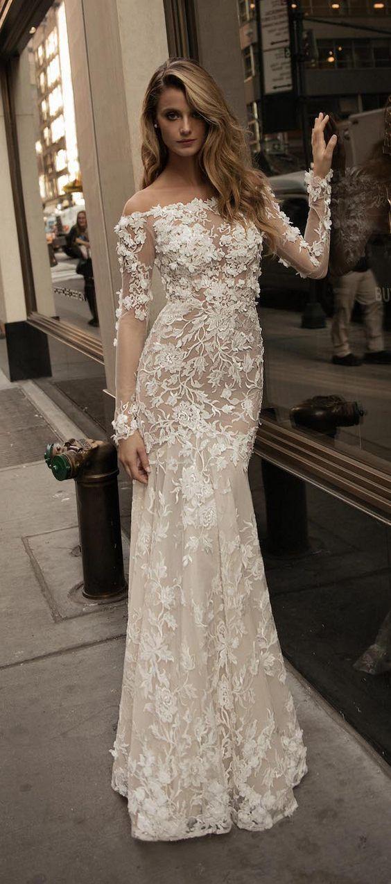 Berta Bridal Fall Wedding Dresses 2017 / http://www.deerpearlflowers.com/berta-fw-2017-wedding-dresses/5/