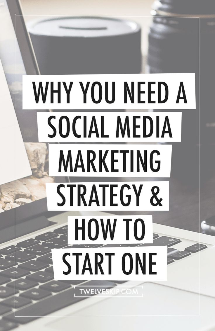 Why You Need A Social Media Marketing Strategy & How To Start One ...