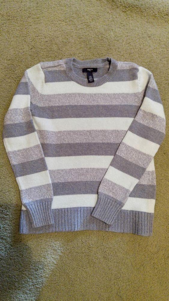 e54d6d652 Gap Girls blue striped pullover sweater long sleeve size XL  fashion ...