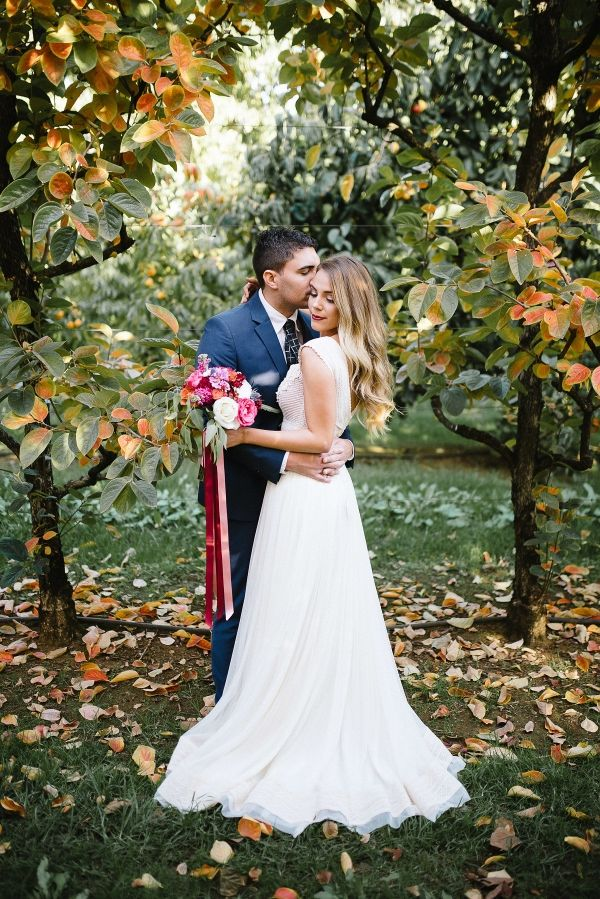 Autumnal Orchard Wedding Inspiration - Amanda Afton - Australian Wedding Photography - Boho Bride
