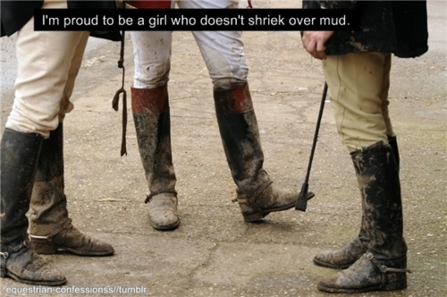Never been afraid to get dirty for a good cause.