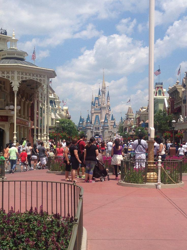 Main Street no Disney World #DisneyWorld