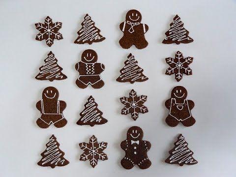 Receta: Galletas de Jengibre -- Navidad -- Vídeo receta (Paso a paso)