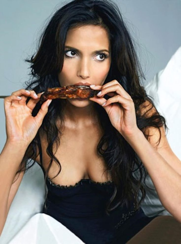 """Food and relationships go hand in hand for Padma Lakshmi. To get her attention, you should """"know how to cook"""