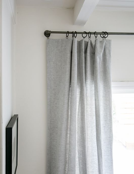 Barn U0026 Willowu0027s Modern Bohemian Bedroom U2013 Barn U0026 Willow #drapes #gray