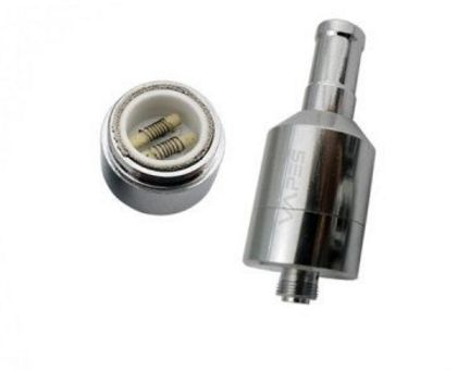 Skillet XL Dual Coil Wax Atomizer save 10% at http://www.allvapediscounts.com/vapes-coupon-codes.html