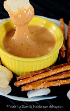 Salted Caramel Cream Cheese Dip on MyRecipeMagic.com