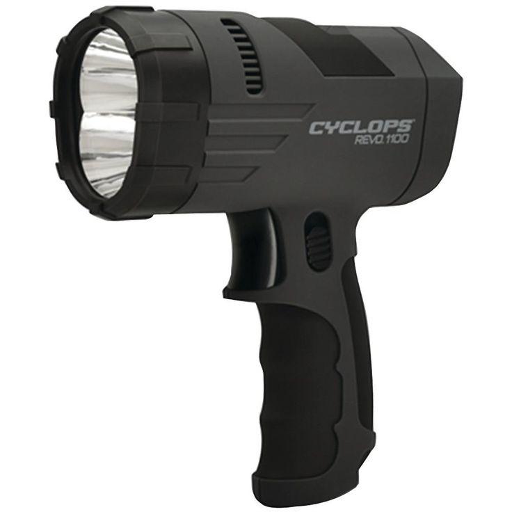 Cyclops 1100-lumen Revo Handheld Spotlight
