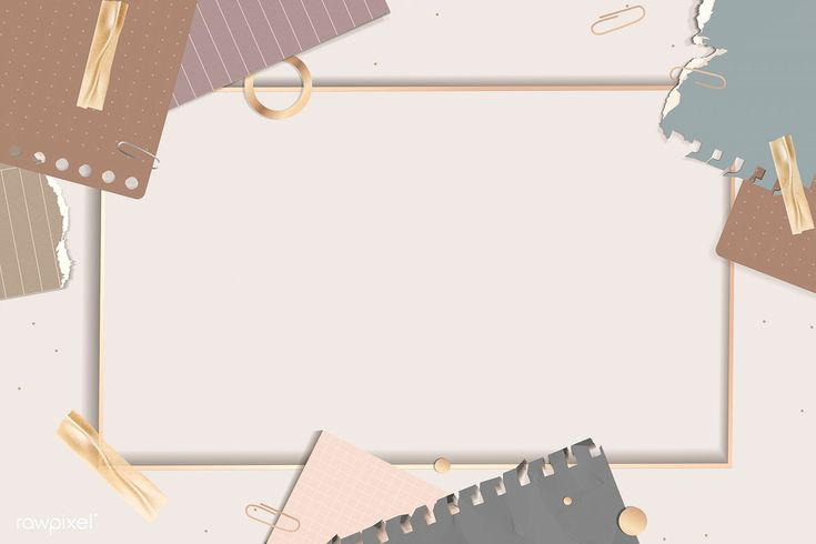 Download premium illustration of Ripped notes rectangle ...