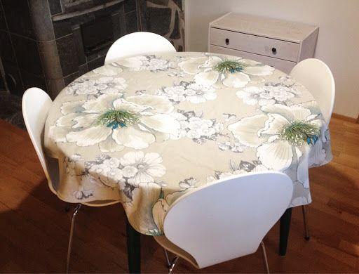 Sapin DIY: Pyöreä pöytäliina