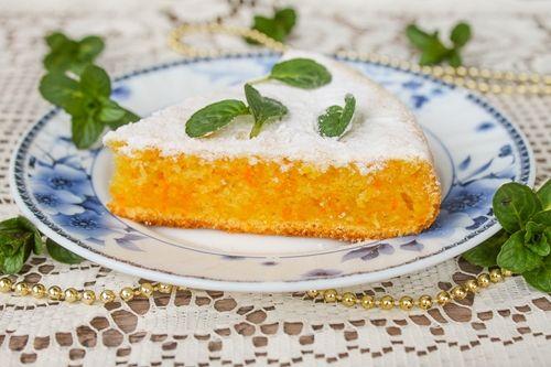 Морковный пирог - вкусно, экономно и полезно!