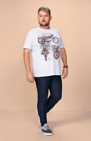 91851e2a Camiseta estampada adulto Wee! | Moda Plus Size Masculina ...