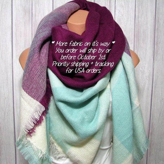 Oversized Merino Wool Scarf - Mocha Tribal by VIDA VIDA Free Shipping 100% Authentic Top Quality Online YvJSZfmZs