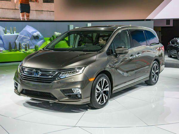 2019 Honda Odyssey Colors In 2020 Honda Odyssey Honda Van Honda Odyssey Touring