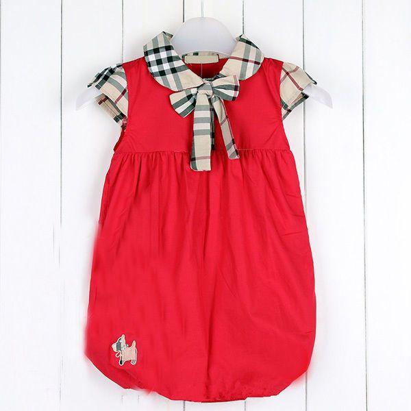 Baby Kids Girls Dress Plaids Checks Summer Dress for Toddler Cotton Casual dress…