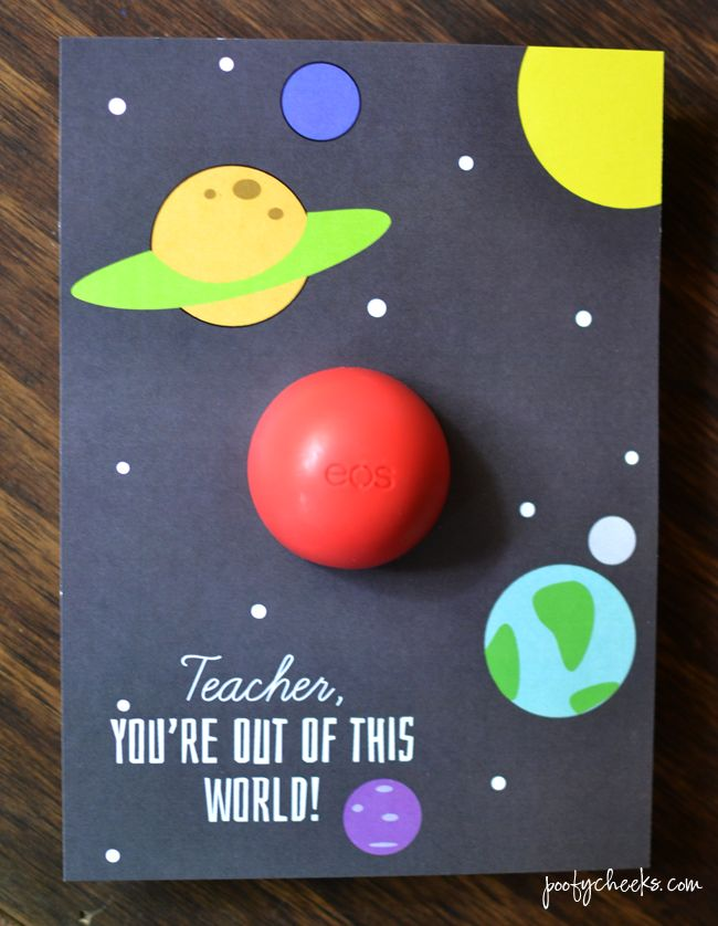 EOS Teacher Appreciation Printable - You're Out of this World